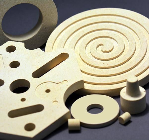 Machinable Cordierite ceramic