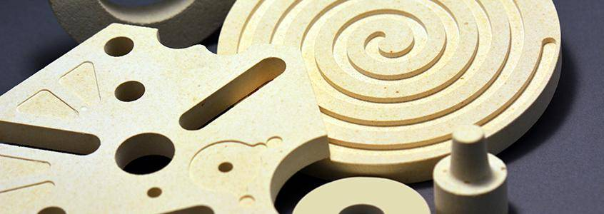 Machinable Cordierite ceramic