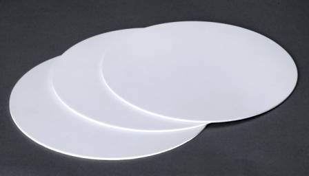 IPSAL95 ALUMINA DISC 100mm DIAMETER X 1mm