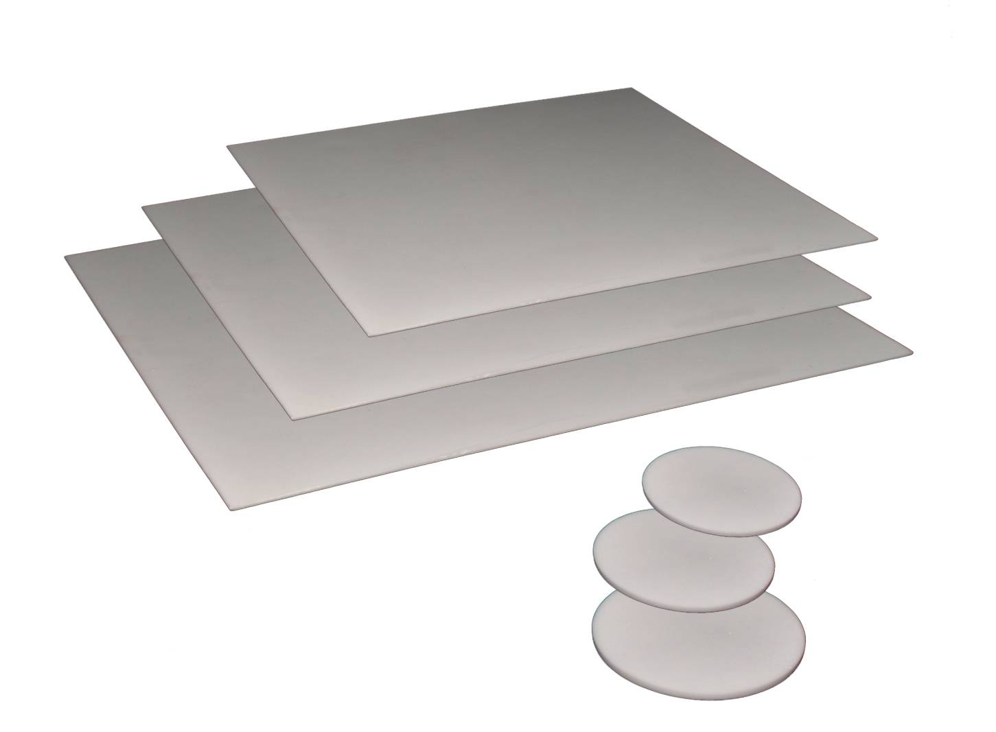 Laser Cut to Size Alumina Tiles and Discs