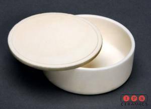 Alumina Crucible with lid IPS Ceramics