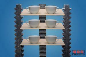 Silicon Carbide kiln car setup IPS Ceramics