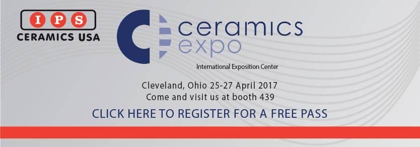 Ceramics Expo 2017 IPS Ceramics