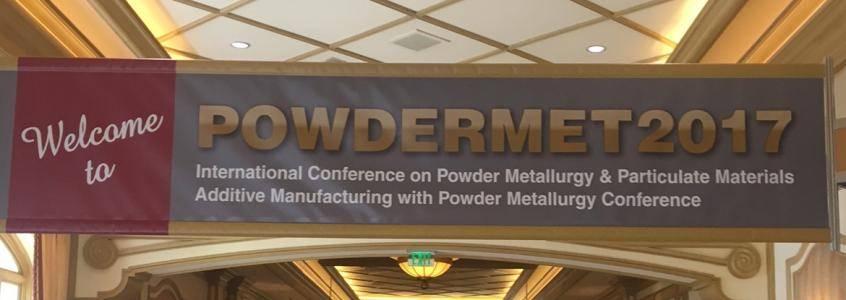 PowderMet 2017 banner