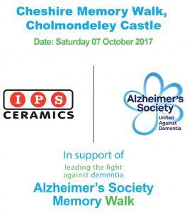 IPS Ceramics - Alzheimers Memory Walk IPS Ceramics