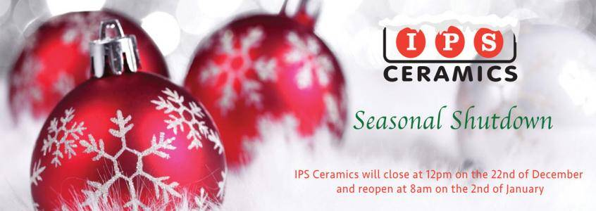 Season's Greetings from IPS Ceramics