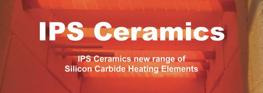 Silicone Carbide Heating Elements - IPS Ceramics New Range