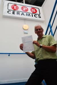 IPS successfully re-accredited under the updated ISO9001 Accreditation IPS Ceramics