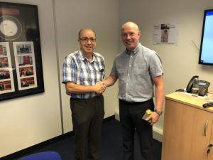 Production Planner Dave Street celebrates 40 years of service IPS Ceramics