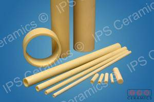Alumina Tube group shot IPS Ceramics