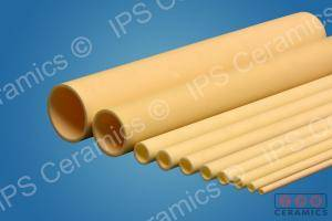 Open End Alumina Tubes IPS Ceramics
