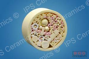 Small Alumina tubes group IPS Ceramics