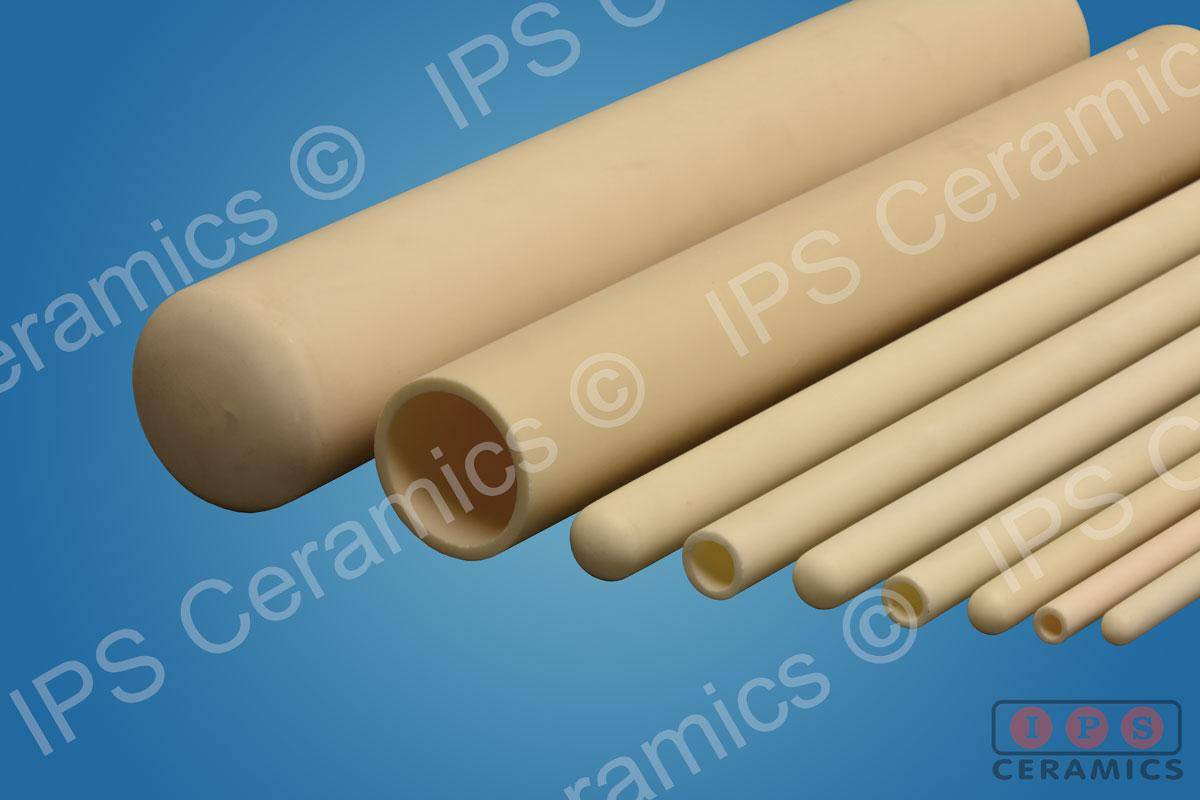 Alumina Tube 15mm OD/11mm ID x 600mm Long IPSAL99 - From £28 (+VAT and Delivery)