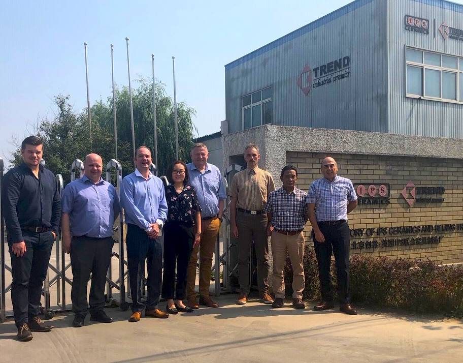 IPS Ceramics Welcomes Fiskars Group to China IPS Ceramics