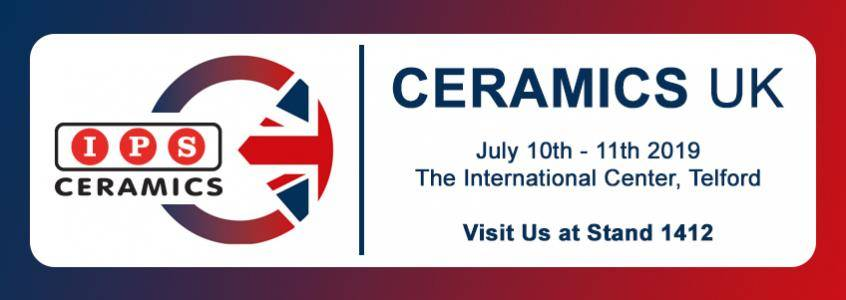 Join Us at Ceramics UK - 10th to 11th July - The International Centre, Telford, UK