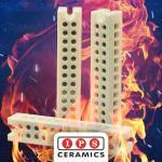 High Temperature Terminal Blocks IPS Ceramics