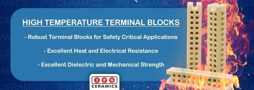 IPS Ceramics' Range of High Temperature Terminal Blocks