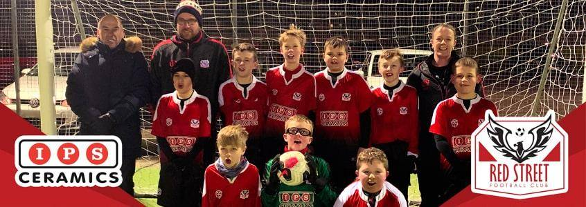 IPS Ceramics are Proud to Sponsor Red Street Football Club
