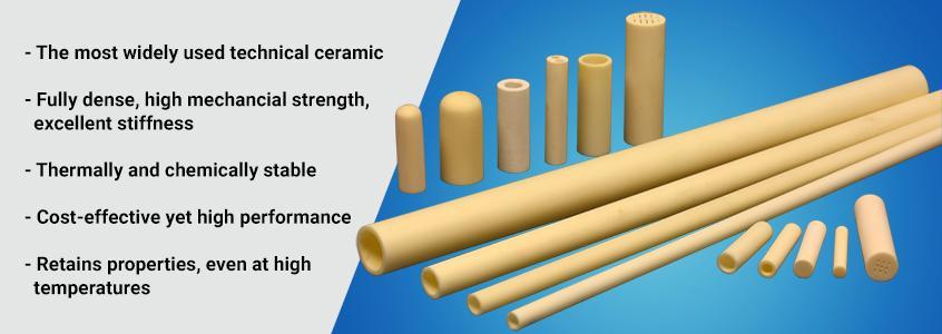Alumina Tubes and Rods