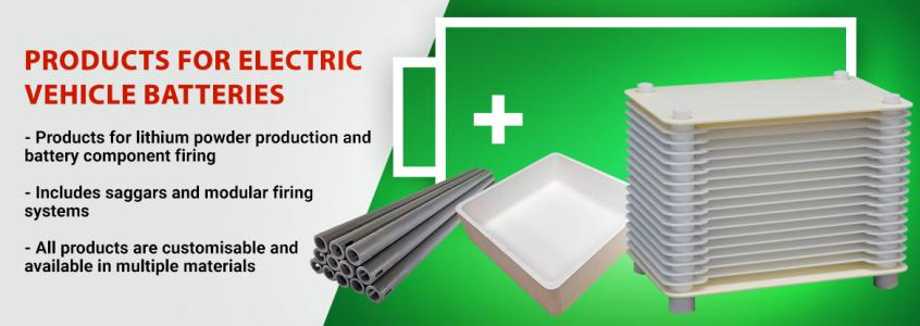 IPS Ceramics - Products for the Battery Industry