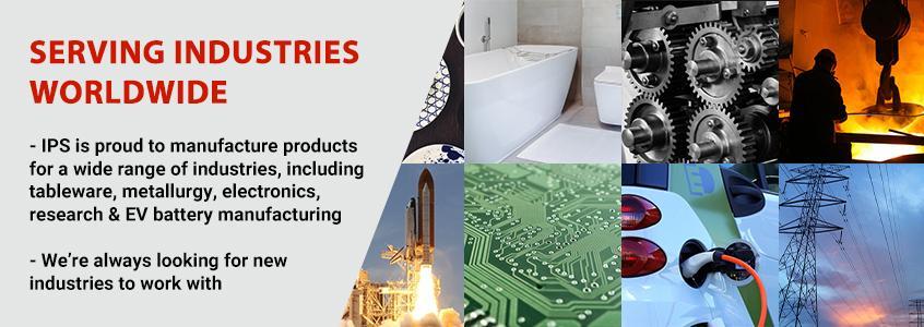 IPS Ceramics - Industries and Sectors