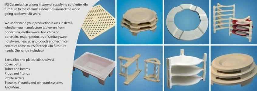 Kiln Furniture From IPS Ceramics