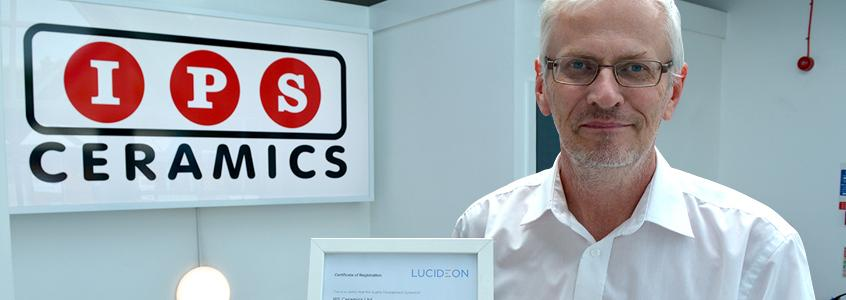IPS Ceramics Awarded ISO 9001 Re-Certification